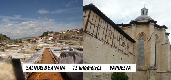 Valpuesta y Salinas de Añana, excursión de día