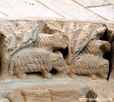 Arte románico: Cárcamo y Tuesta - slide 5