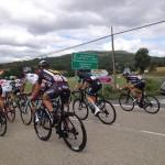 La Vuelta Ciclista pasa junto a Valpuesta