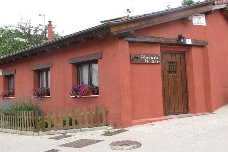 Madera y sal, casa rural en Salinas de Añana - slide 3