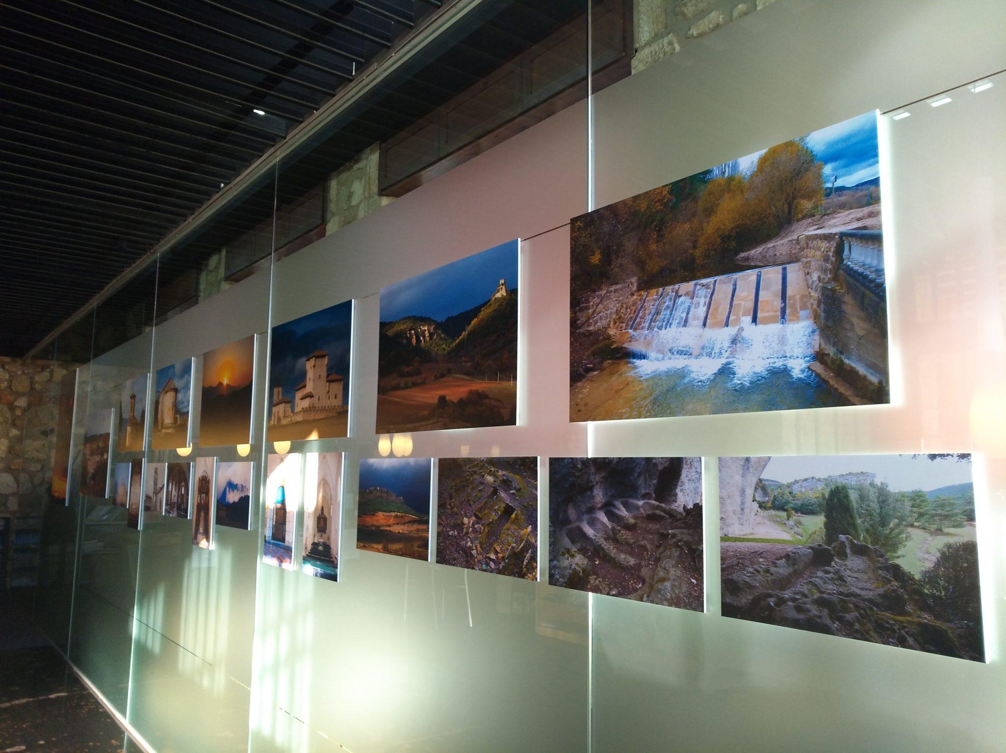 Imagen de la exposición de José Luis Pina