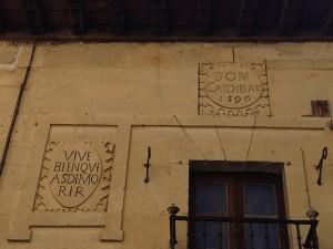 Escudos del Palacio Zaldibar