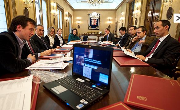 Reunión Fundación Diputación Valpuesta