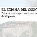 Valpuesta, escenario de la novela 'El enigma del códice Bardulia'