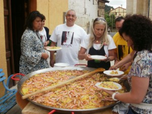 Paella Valpuesta 15 agosto 2011