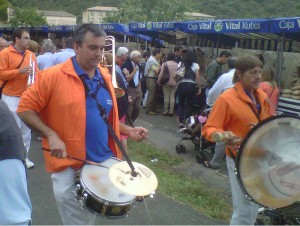 Txaranga, en la Feria de Angosto