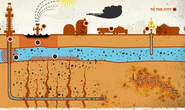 Buscando hidrocarburos en Valderejo