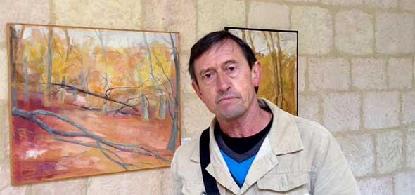 Roberto Martínez Unanue, en Valpuesta