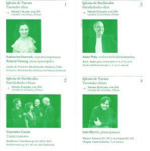 Clic para ver el programa de la Schubertiada en Valdegovía