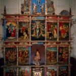 El retablo de la iglesia de Ribera
