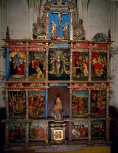 Retablo la iglesia de Ribera de Valderejo-Museo de BBAA Álava